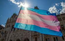 Transz zászló